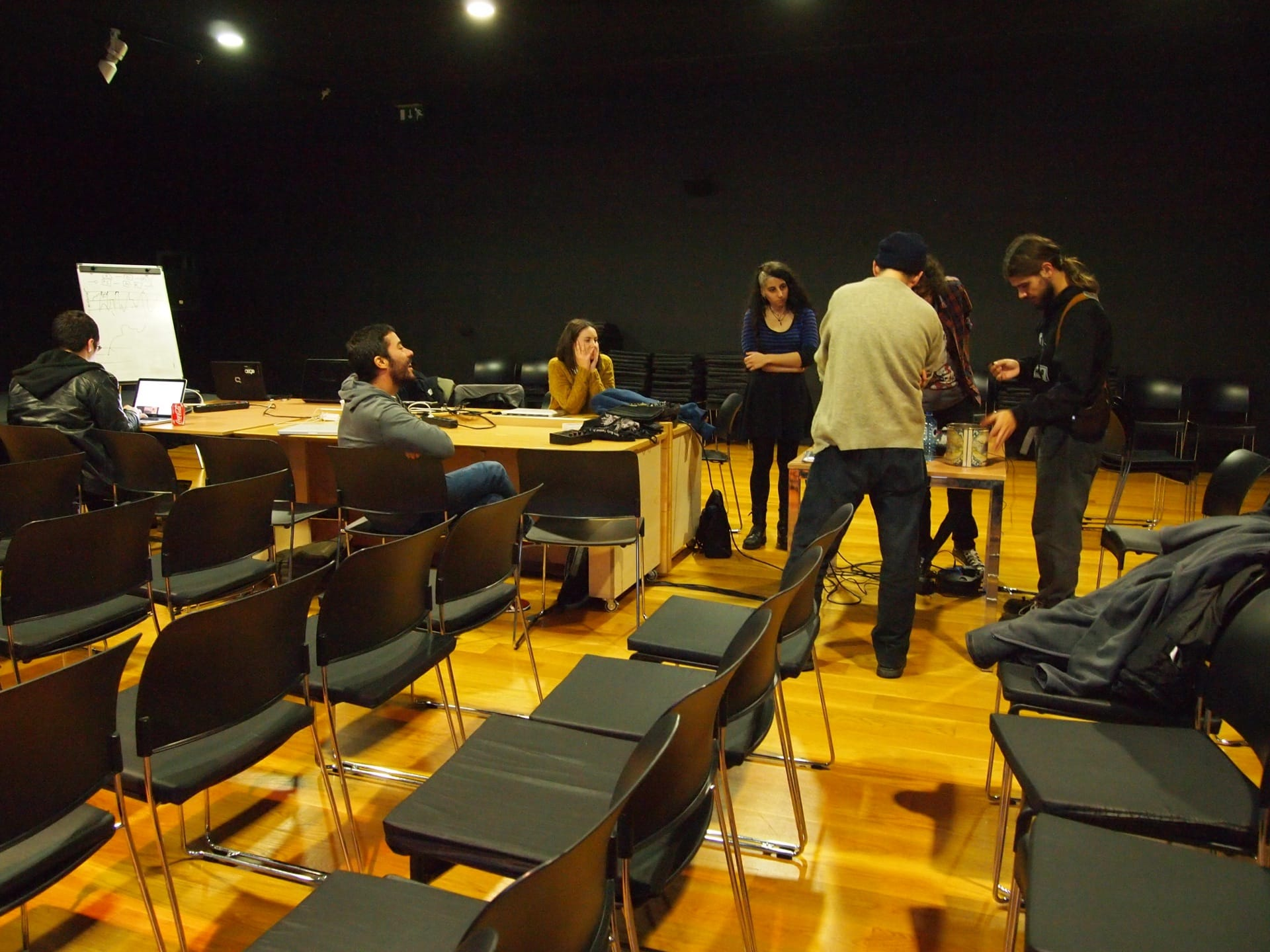 Feedback workshop @ MARCO Vigo by Stelios Manousakis (2014)