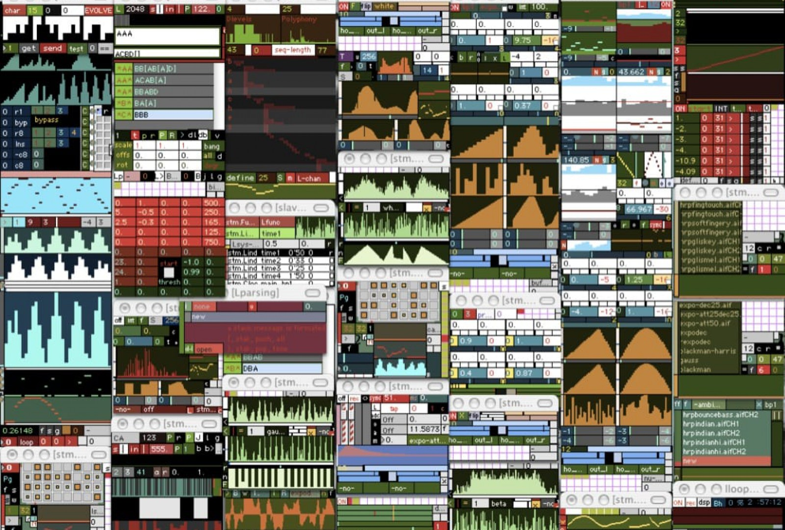 stm.modular (software) by Stelios Manousakis – most modules